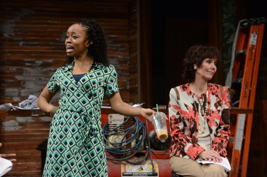 chandra thomas and Lynne Wintersteller; photo courtesy Pittsburgh Public Theater