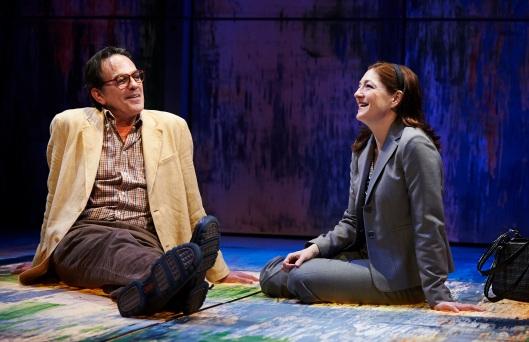 (L-R) John Feltch as Douglas, Rebecca Harris as Tanya; Credit: Kristi Jan Hoover