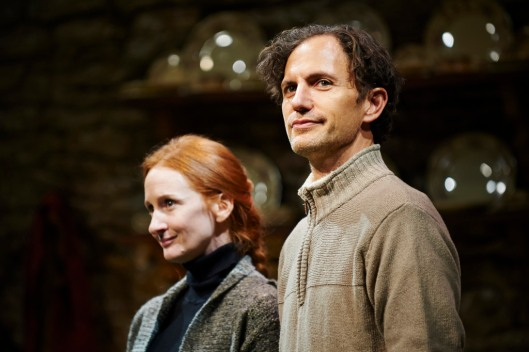 L to R: Megan Byrne and Ron Menzel. Photo Kristi Jan Hoover, courtesy City Theatre.