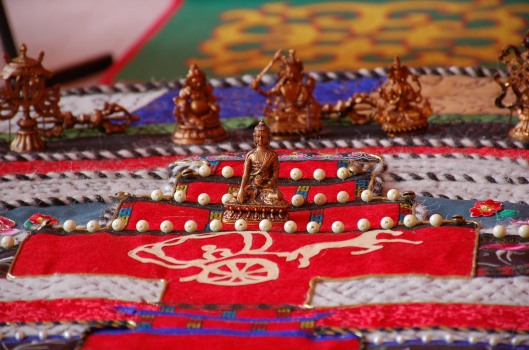 Mongolian exhibit, detail. Photo: M. Perdriel