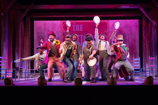 The Cast of The Scottsboro Boys 1