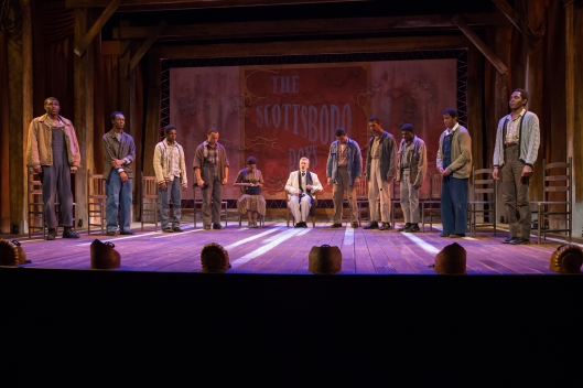 The Cast of The Scottsboro Boys 3